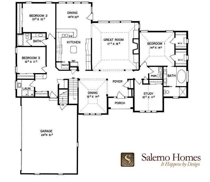 Split Bedroom Plans Elegant Ranch Floor Plans With Split Bedrooms